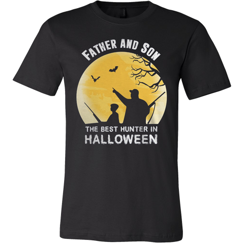 FATHER AND SON IN HALLOWEEN T-SHIRT - Vietees Shop Online