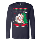 Christmas Ugly Sweater - SHIH TZU DOG - Vietees Shop Online - 2