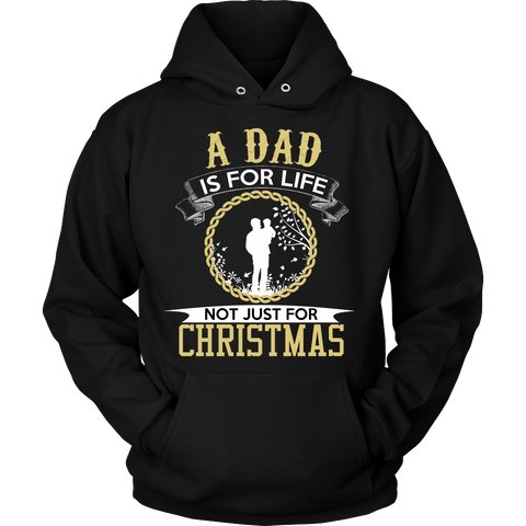 A DAD IS FOR LIFE HOODIE - Vietees Shop Online - 1