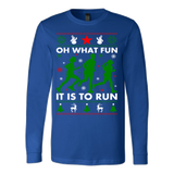 Ugly christmas runner sweater - Vietees Shop Online