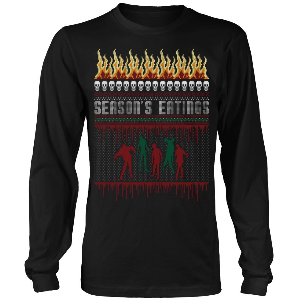 Zombie ugly christmas sweater – Vietees Shop Online