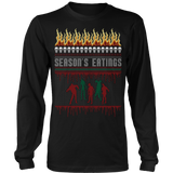 Zombie ugly christmas sweater - Vietees Shop Online - 8