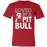 Loved by a Pit Bull - Vietees Shop Online
