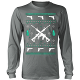 Assault Rifle Ugly Christmas Sweatshirt - Vietees Shop Online - 11