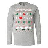 I love pigs ugly christmas sweater xmas - Vietees Shop Online