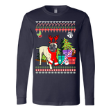 Bullmastiff Ugly Christmas Sweater - Vietees Shop Online