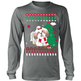 Christmas Ugly Sweater - SHIH TZU DOG - Vietees Shop Online - 10
