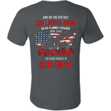 Veteran - So God made a Soldier T-shirt - Vietees Shop Online