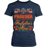 Proud Firefighters Mom - Vietees Shop Online