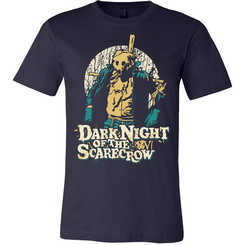 Dark Night Of The Scarecrow Halloween T-shirt