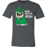 Kiss Me I'm Irish Big Magnet T-shirt - Vietees Shop Online