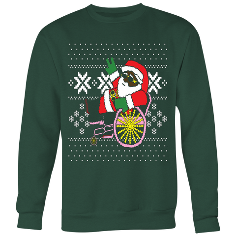 2 Chainz ugly Christmas sweater trapping Santa T-shirt