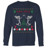 Mermaid Mer-Fect Ugly Christmas Sweater T-shirt - Vietees Shop Online