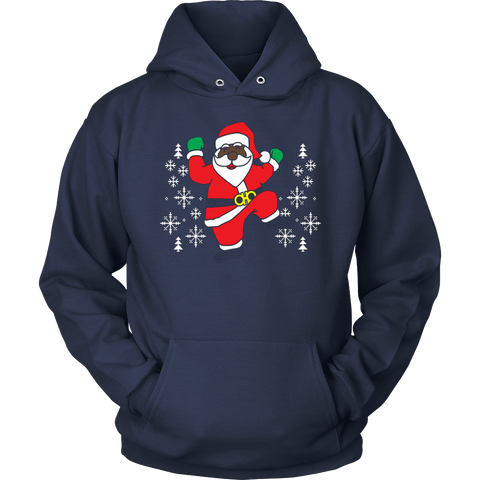 2 Chainz ugly Christmas sweater dancing Santa T-shirt - Vietees Shop Online