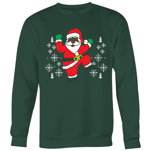 2 Chainz ugly Christmas sweater dancing Santa T-shirt