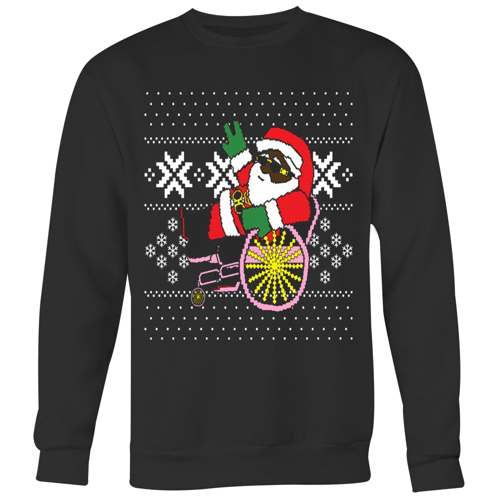 7168e96e1c0 2 Chainz ugly Christmas sweater trapping Santa T-shirt – Vietees ...