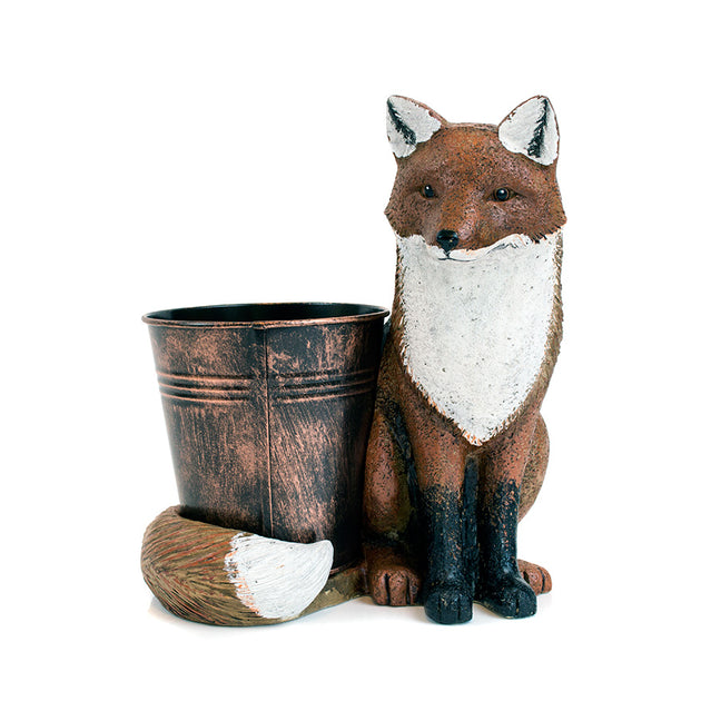 Fox Animal Planter gift sold at Bear Valley in Lincoln City