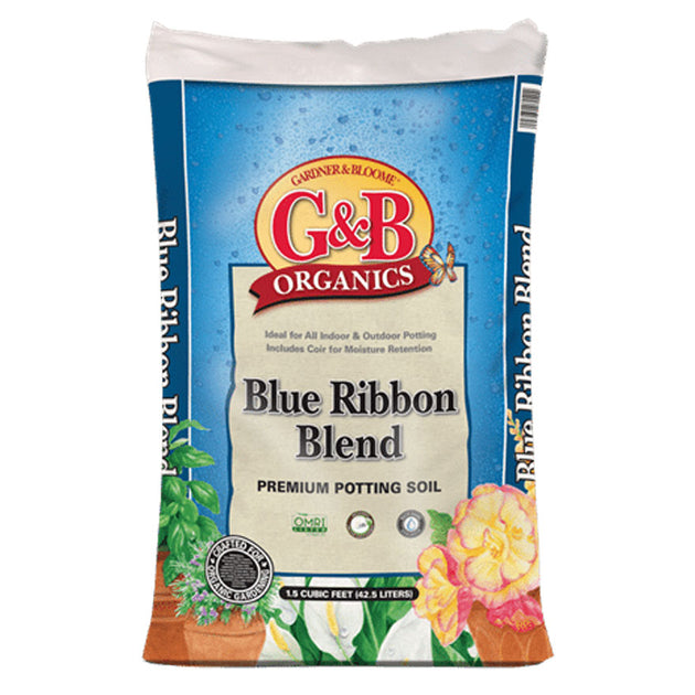 G&B Organics premium potting soil for raised beds, containers, and outdoor and indoor planting sold at Bear Valley in Lincoln City