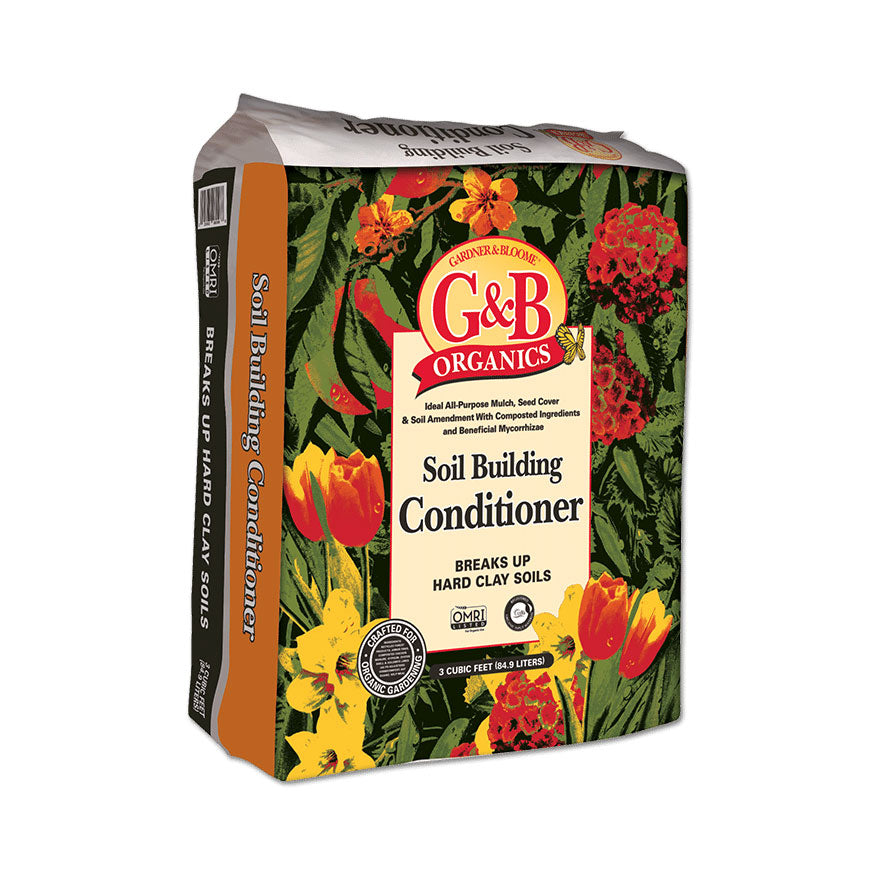 G&B Organics soil building conditioner for drainage and clay sold at Bear Valley in Lincoln City