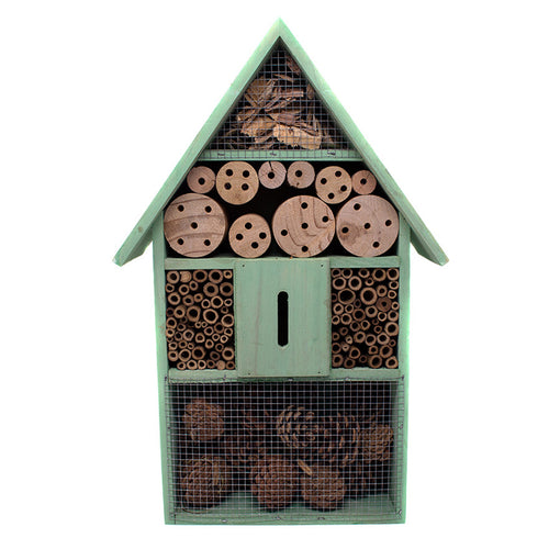 Insect hotel bug house garden decor sold at Bear Valley in Lincoln City