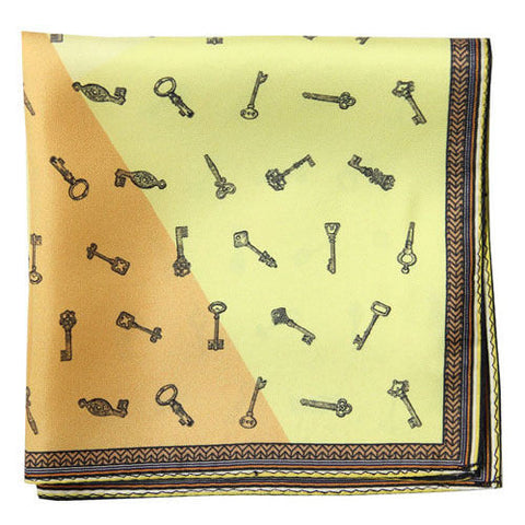 Lacquer Embassy Astragal - Designer Pocket Square