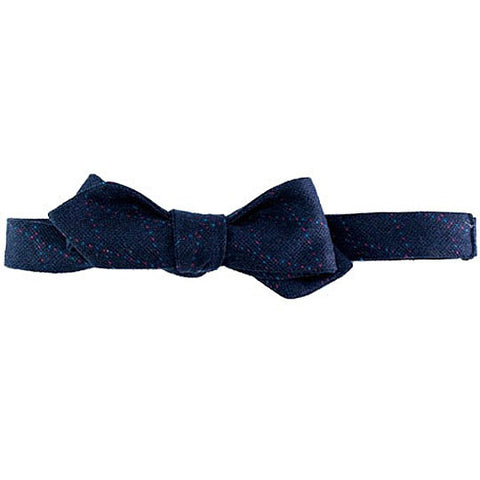 Navy with green and red dotted diamond pattern Margo Petitti - Bow Tie