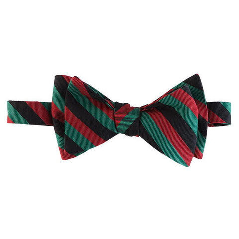 Black, red, and green Margo Petitti - Bow Tie