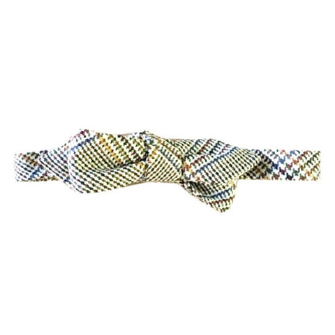 Diamond point light green Margo Petitti - Bow Tie