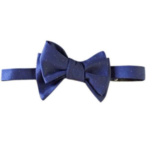 Butterfly wing navy with gold Margo Petitti - Bow Tie