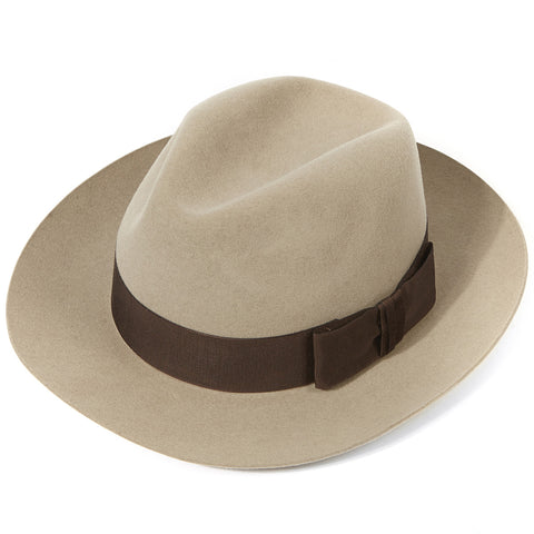 Handmade Knightsbridge Fedora - Classic Men's Hat - Eloquent District
