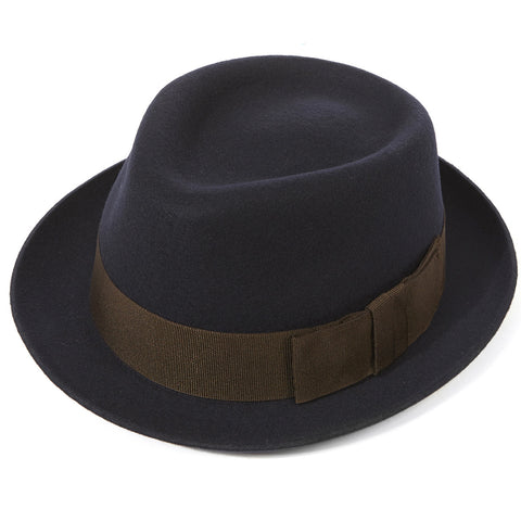 Christys' London Hand Made Whitstable Trilby Hat - Classic Men's Hat - Eloquent District
