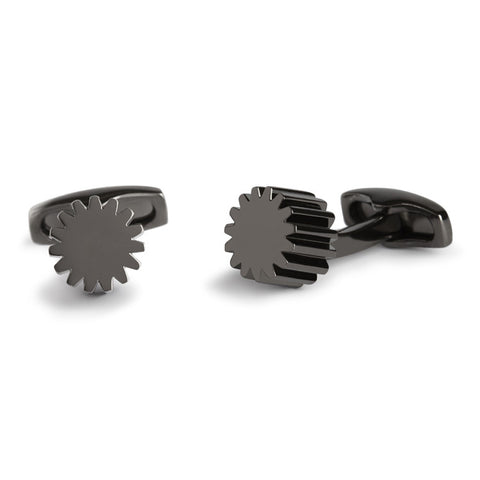 Simon Carter COG - Gunmetal - Men's Designer Cufflinks - Eloquent District