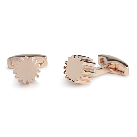 Simon Carter COG - Rose Gold - Men's Designer Cufflinks - Eloquent District