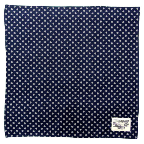Lacquer Embassy Dock Printed Nautical - Designer Pocket Square