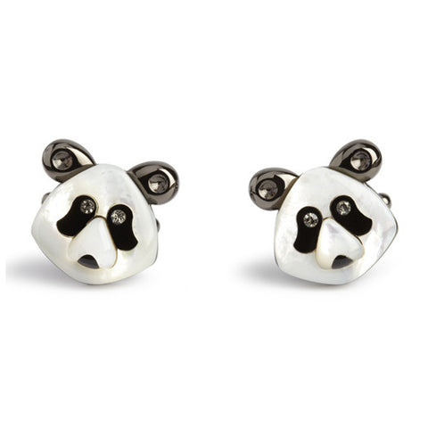 Simon Carter Darwin - Panda - Men's Luxury Cufflinks - Eloquent District