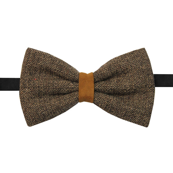 Tweed bowtie Lacquer Embassy Grove - Bow Tie