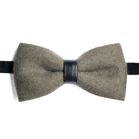 Black Leather Lacquer Embassy Gilles - Bow Tie