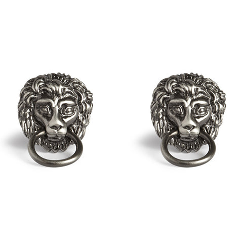 Simon Carter Lion Head Door Knocker - Men's Designer Cufflinks - Eloquent District