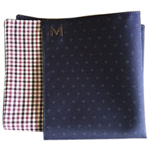 Margo Petitti Diamond Pattern - Men's Pocket Square