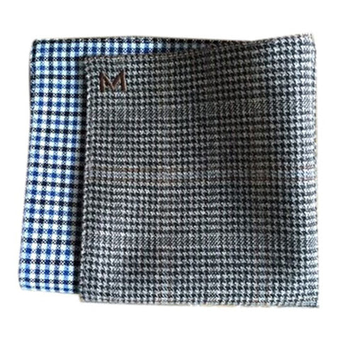 Margo Petitti Reversible Pocket Square - Men's Pocket Square