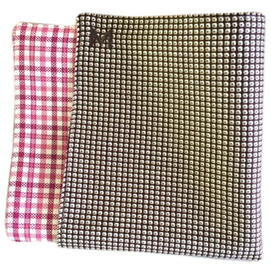 Margo Petitti Geometric Pattern - Men's Pocket Square