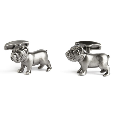 Simon Carter Pursuits - Bulldog - Men's Designer Cufflinks - Eloquent District