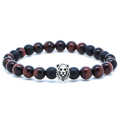 Handmade Chevalier Red Lion - Men's Bracelet - Eloquent District