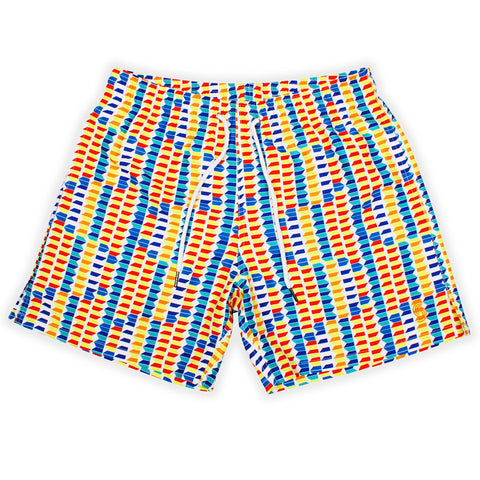 Syndicut London Boboto Printed Swim Shorts - Men's Designer Swim Trunks