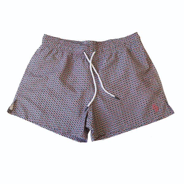 Syndicut London Syniwave Summer Party Shorts - Men's Swimwear