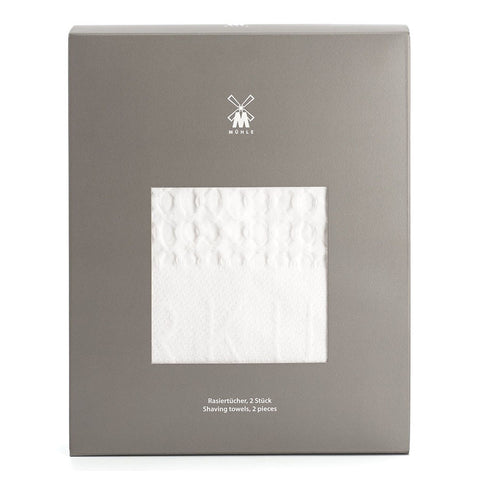 Muehle Shaving Towel - Pure Cotton Shaving Towel