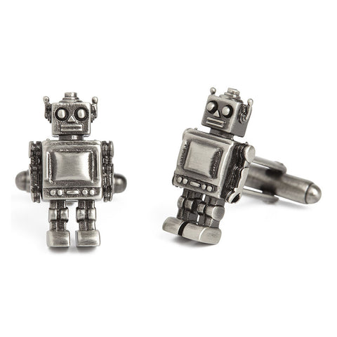 Vintage toy robots Simon Carter West End Robot - Men's Designer Cufflinks - Eloquent District