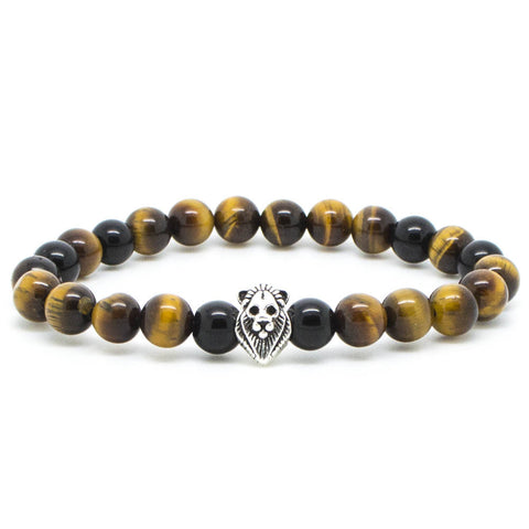 Handcrafted Chevalier Yellow Lion - Men's Bracelet - Eloquent District