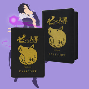 Gluttony Passport Cover