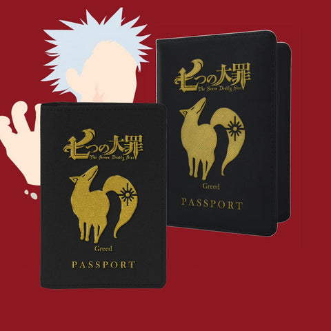 Greed Passport Cover